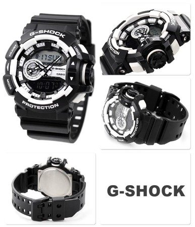 Casio G-Shock GA-400-1A Rotary Switch